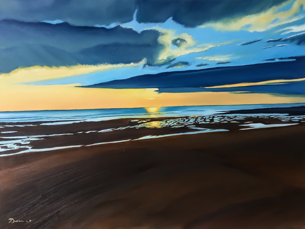 Fanore Beach III by Artist Pete Dunne