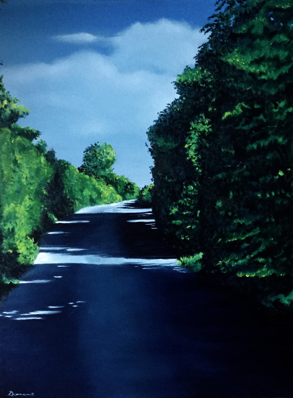 Road to Corofin by Artist Pete Dunne
