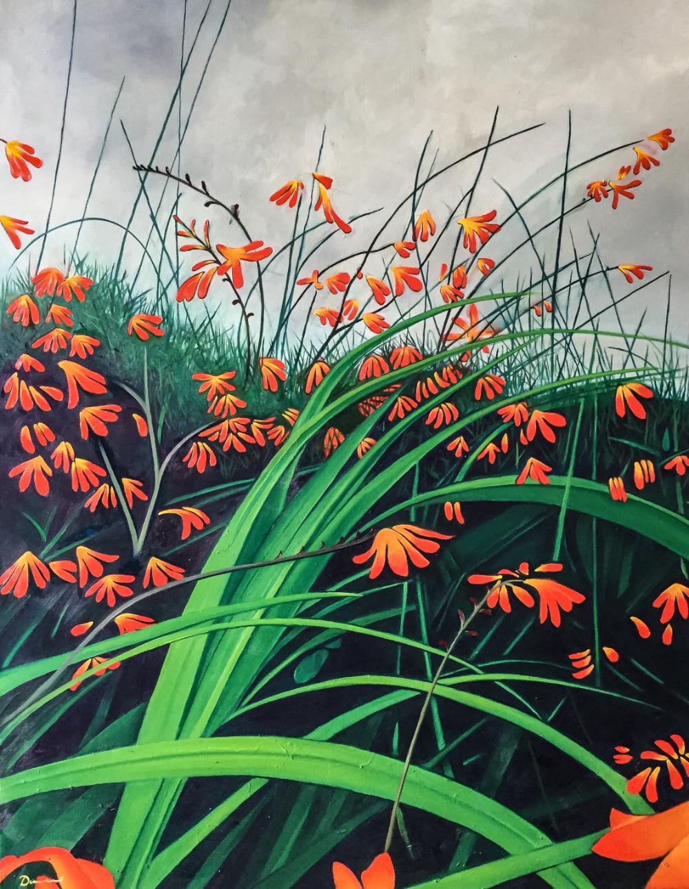 Monbretia by Pete Dunne Artist