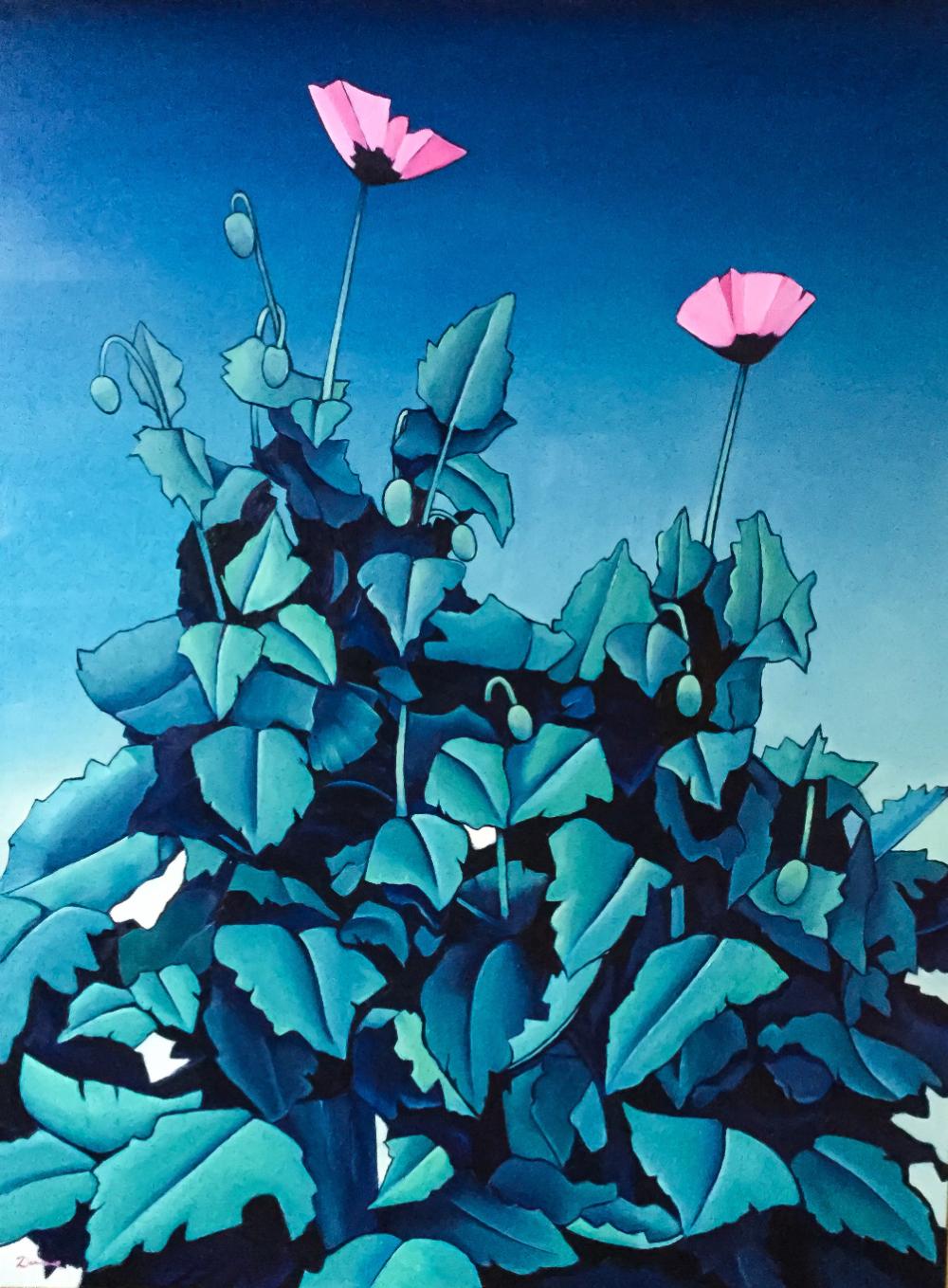 Poppys by Artist Pete Dunne